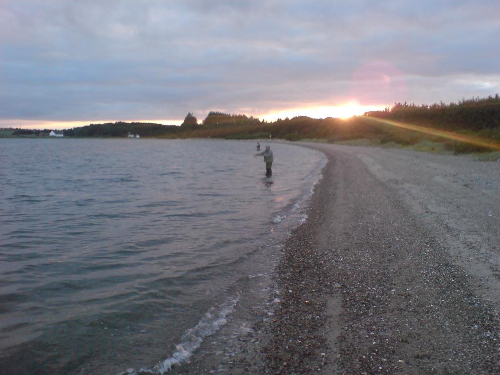 Kleppen syd Strandbjerggård ses i baggrunden.