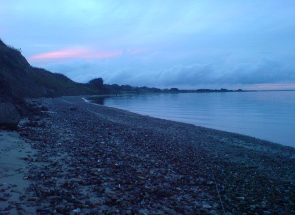 Solnedgang på Kleppen