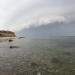 Uvejret kommer