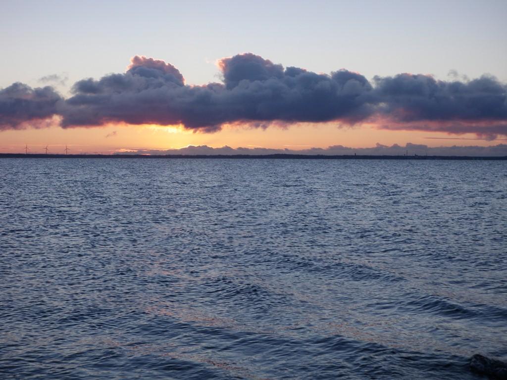 Solnedgangen set fra Ejsingholm